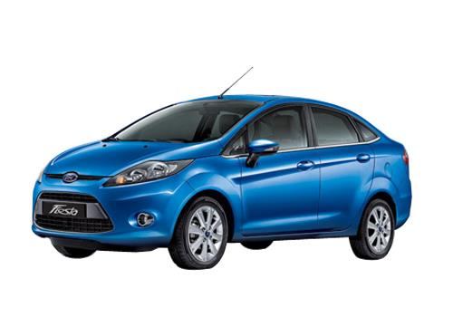 Ford Fiesta Front Angle View Picture