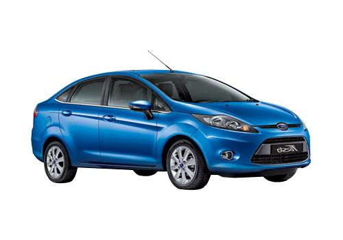 Ford Fiesta Front Side View Exterior Picture