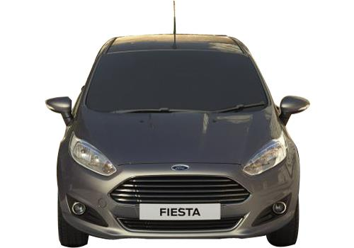 Ford Fiesta Front View Picture