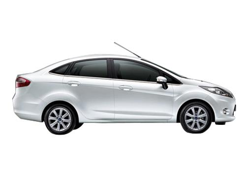 Ford Fiesta Side Medium View Exterior Picture