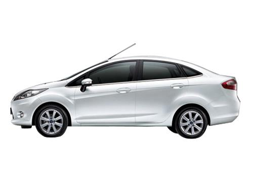 Ford Fiesta Front Angle Side View Exterior Picture