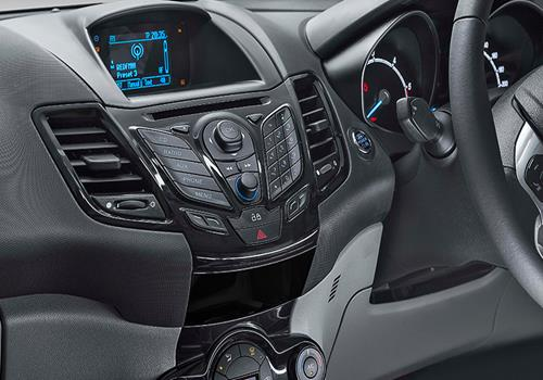 Ford Fiesta Stereo Interior Picture