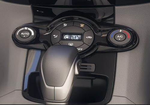 Ford Fiesta Front AC Controls Interior Picture