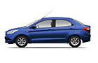 Ford Figo Aspire Deep Impact Blue