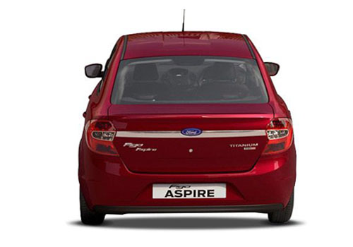 Ford Figo Aspire Rear View Exterior Picture