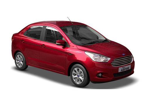 Ford Figo Aspire Front Side View Exterior Picture