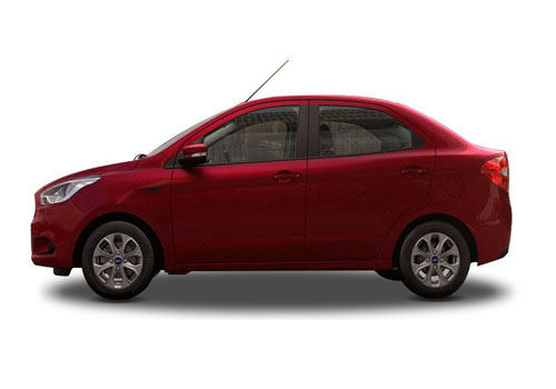Ford Figo Aspire Front Angle Side View Exterior Picture