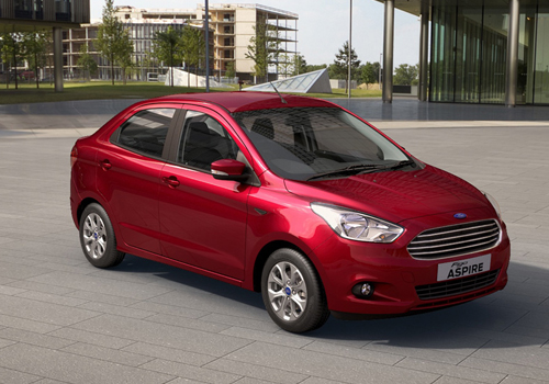 Ford Figo Aspire Front Low Angle View Exterior Picture