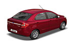 Ford Figo Aspire Rear Angle View Picture