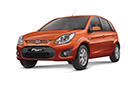 Ford Figo in Colorado Red Color