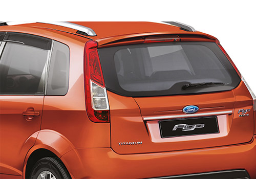 Ford Figo Rear Wing Spoiler Kit Exterior Picture