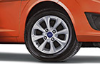 Ford Figo Wheel and Tyre Picture