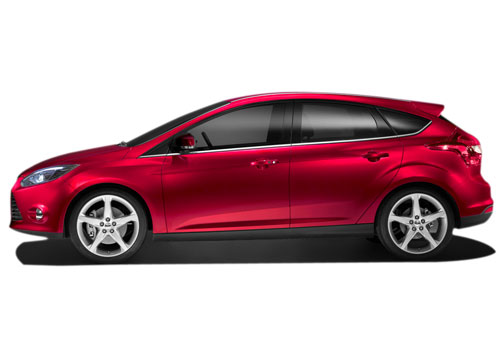 Ford Focus Front Angle Side View Exterior Picture