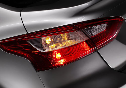 Ford Focus Tail Light Exterior Picture