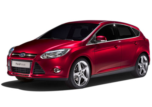 Ford Focus Front High Angle View Exterior Picture