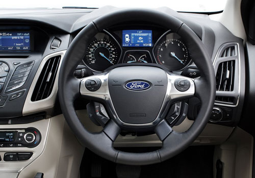 Ford Focus Steering Wheel Interior Picture
