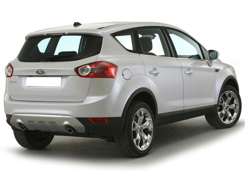 Ford Kuga Rear Angle View Exterior Picture