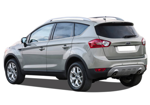 Ford Kuga Cross Side View Exterior Picture