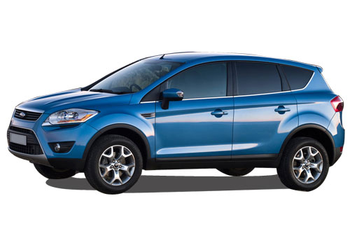 Ford Kuga Front Angle Side View Exterior Picture