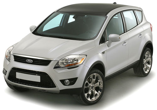 Ford Kuga Front High Angle View Exterior Picture