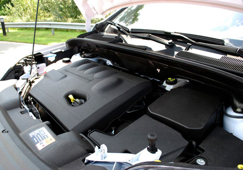 Ford Kuga Engine Interior Picture