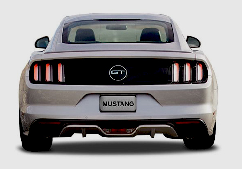 Ford Mustang Rear View Exterior Picture