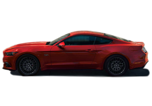 Ford Mustang Front Angle Side View Exterior Picture