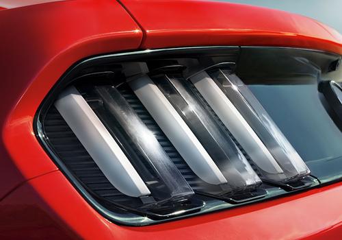 Ford Mustang Tail Light Exterior Picture