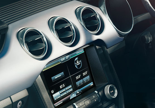 Ford Mustang Front AC Controls Interior Picture