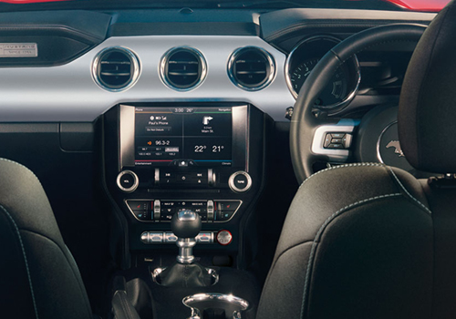 Ford Mustang Central Control Interior Picture