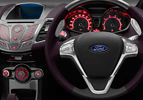 Ford Verve Steering Wheel Interior Picture