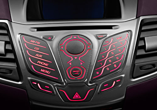 Ford Verve Stereo Interior Picture