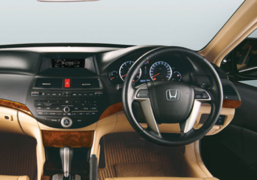 Honda Accord Steering Wheel Interior Picture