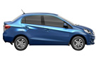 Honda Amaze in Majestic Blue Color