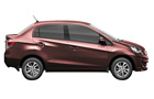 Honda Amaze in Carnelian Red Pearl Color