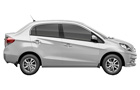 Honda Amaze in Taffeta White Color