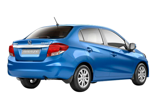 Honda Amaze Rear Angle View Exterior Picture