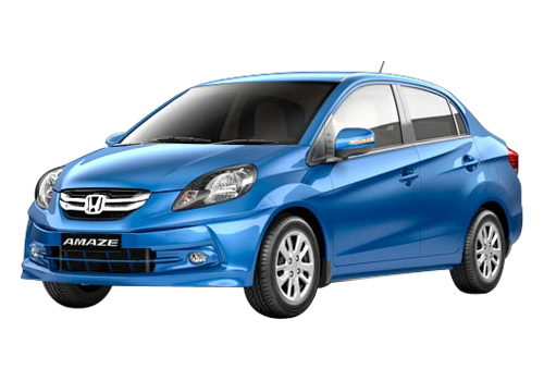 Honda Amaze Front High Angle View Exterior Picture