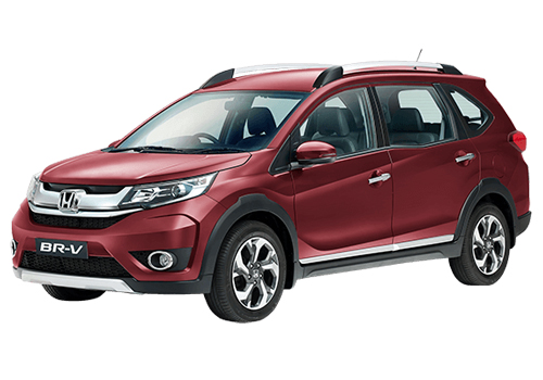 Honda BR-V Front Angle Low Wide Exterior Picture