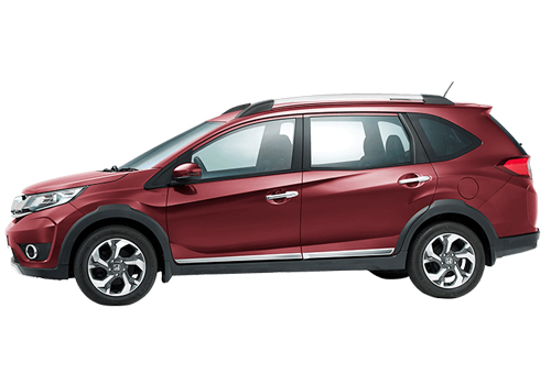 Honda BR-V Front Angle Side View Exterior Picture