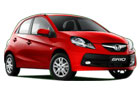 Honda Brio in Red Color