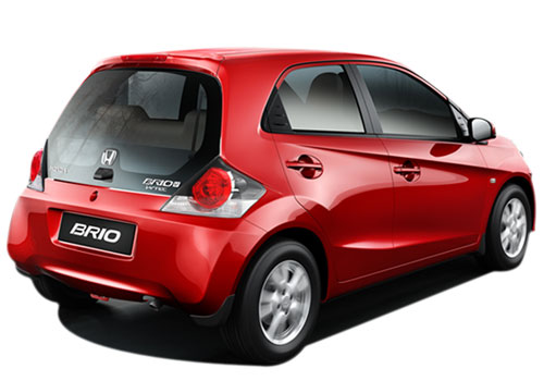 Honda Brio Rear Angle View Exterior Picture
