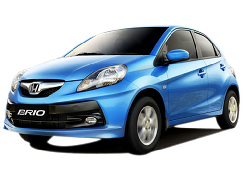 Honda Brio Front High Angle View Exterior Picture