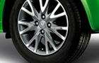 Honda Brio Wheel and Tyre Picture