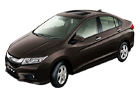 Honda City in Brown Color