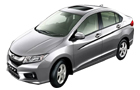 Honda City in Silver Metallic Color