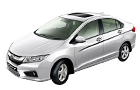 Honda City in Tefeta White Color