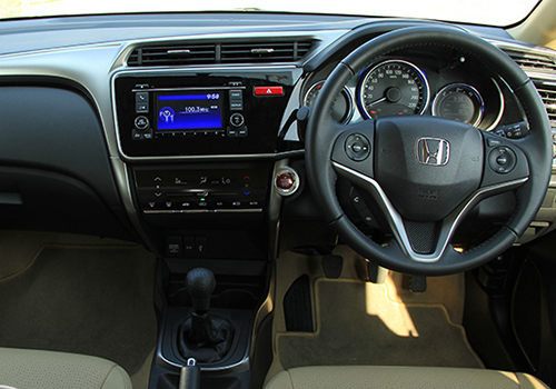 Honda City Central Console Picture