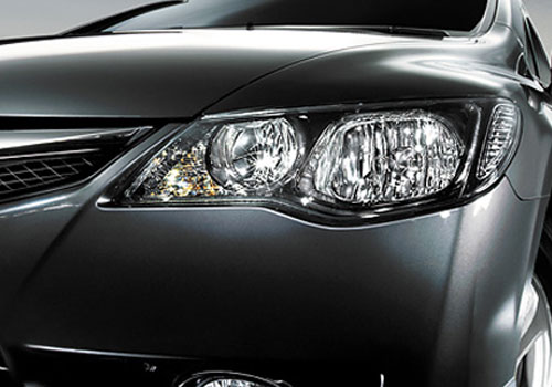 Honda Civic Headlight Exterior Picture