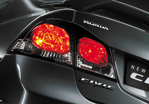 Honda Civic Tail Light Exterior Picture